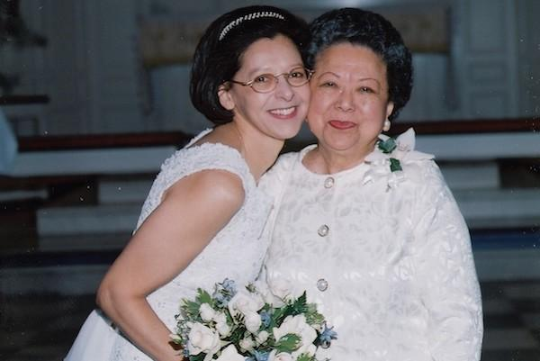 Lily with her mother Angelina Miller